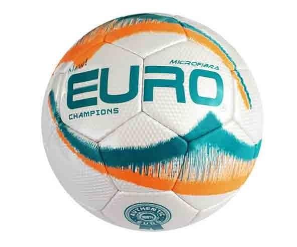 87cdce78836aa Bola Euro Society Champions Costurada À Mão Microfibra - R  58