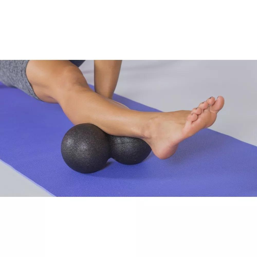 3caff8d4ea Bola Feijão Peanut Fisioterapia Massagem Yoga Pilates 16x8cm - R  34 ...