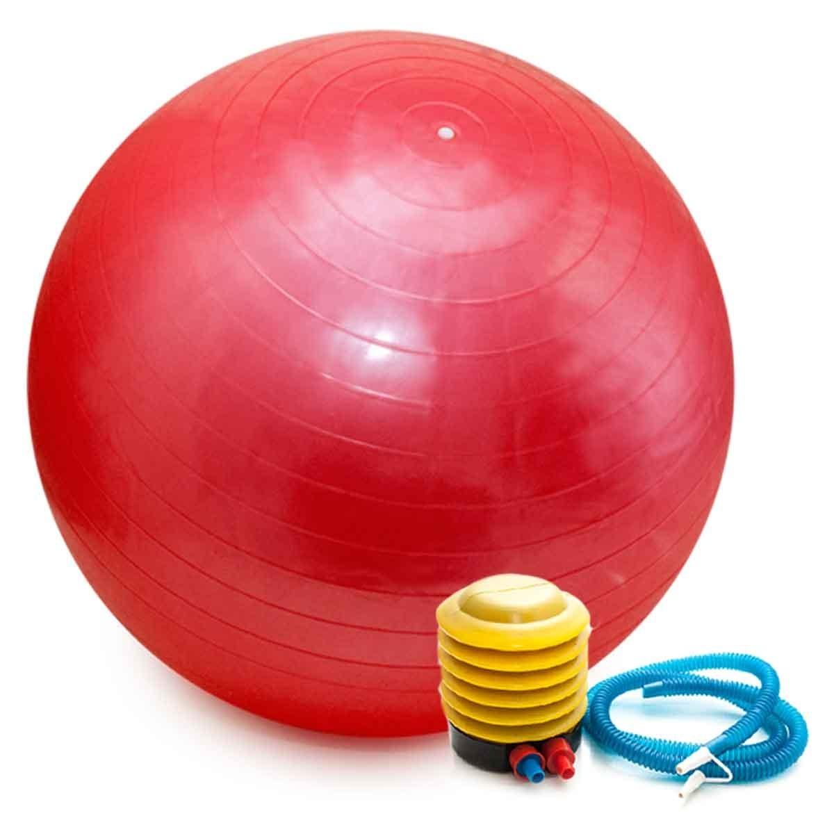 Bola Pilates Yoga Fitness 65 Cm C  Bomba Abdominal Ginástica - R  37 ... 43dd87ce868df