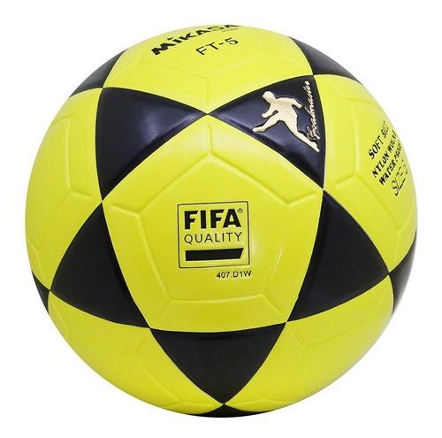 bola ft5 futevolei original fifa mikasa ft-5 altinha profissional praia futemesa amarela com preto