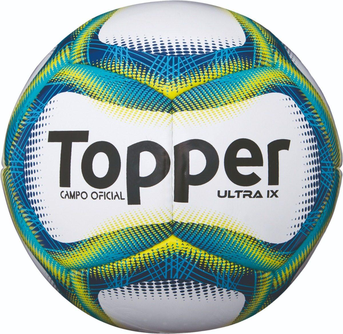 Bola Fut Campo Topper Ultra Ix - Costurada Á Mão - R  120 d7c3968cad9a2