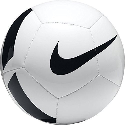 Bola Fútbol Nike Pitch Equipo ( Blanco   Negro ) ( Tamaño 3 ... a7694baf068d8
