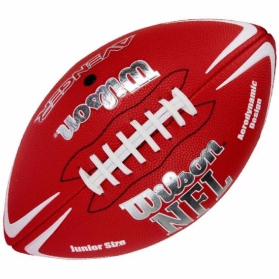 Bola De Futebol Americano Wilson Nfl Avenger Jr - Vermelho - R  99 ... 5185862874d27