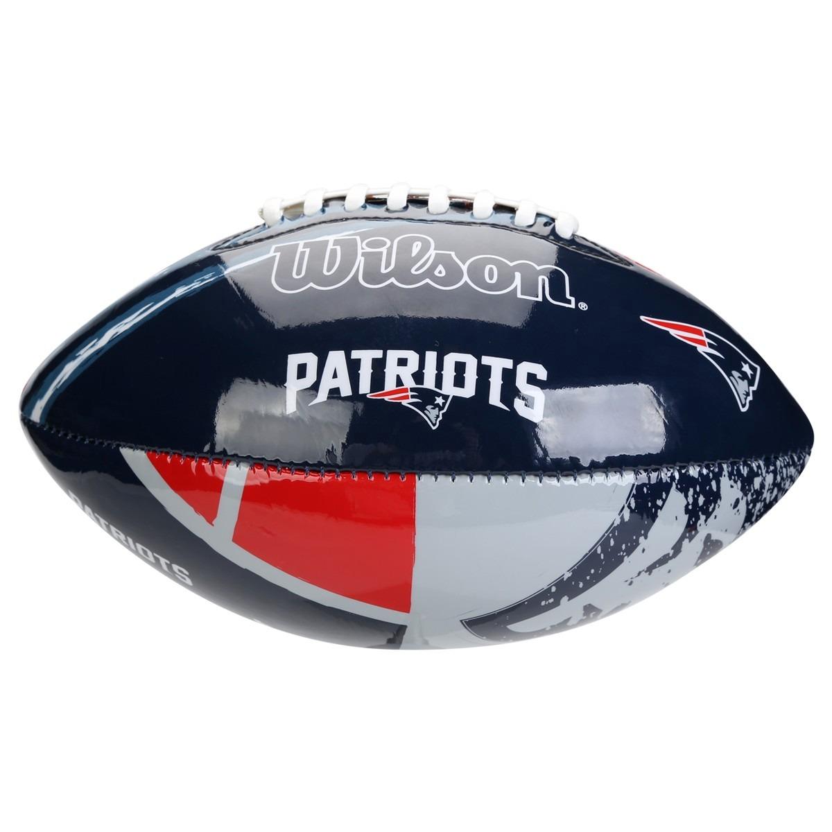 bola futebol americano wilson - nfl - new england patriots. Carregando  zoom... bola futebol americano. Carregando zoom. 7b6abc98522