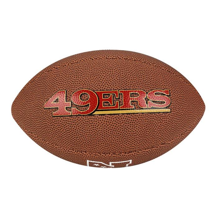bola futebol americano san francisco 49ers wilson - wtf1540x · bola futebol  americano 2aa61bfad3449