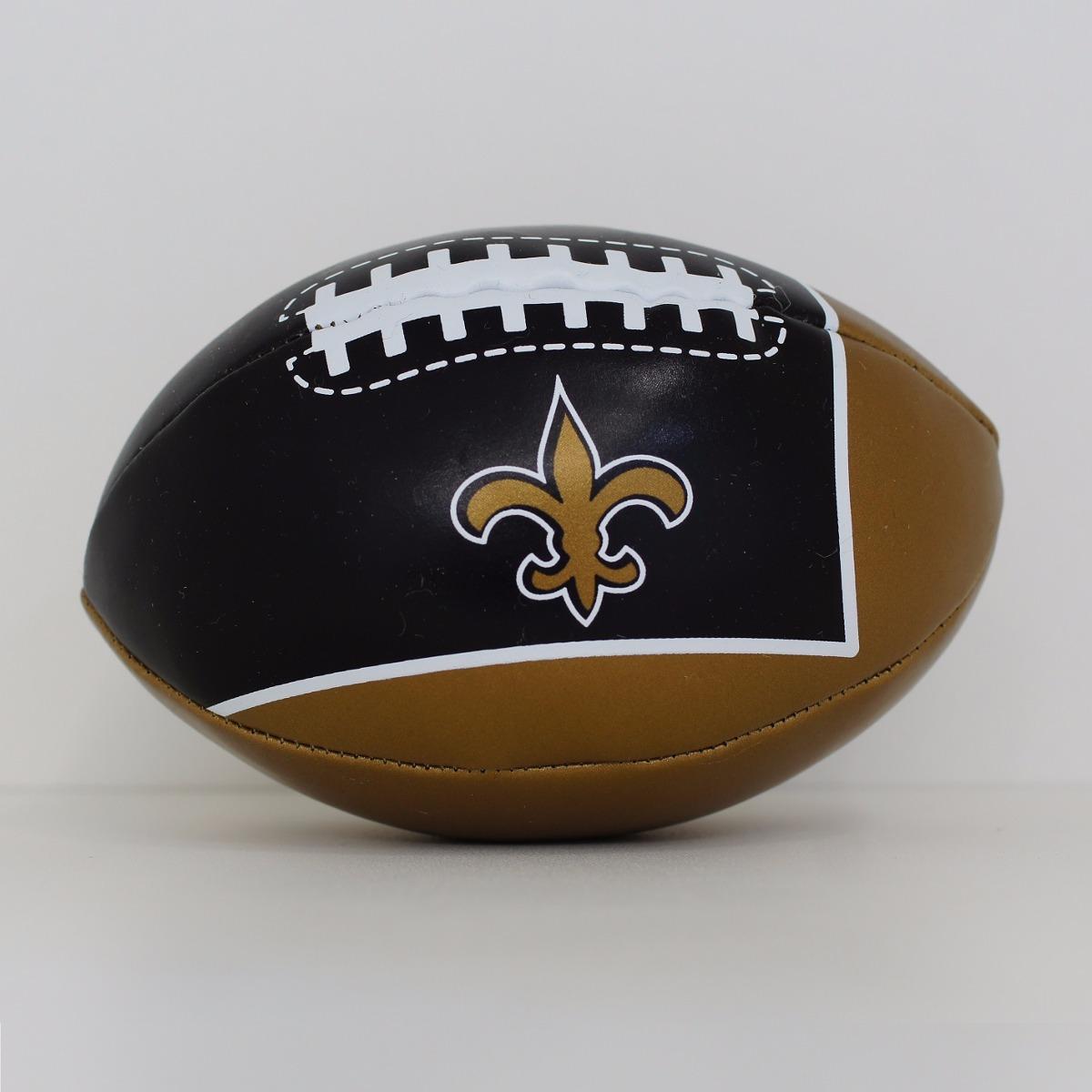 aeb042d8c4 Carregando zoom... futebol americano bola. Carregando zoom... mini bola  futebol americano - nfl - new orleans saints