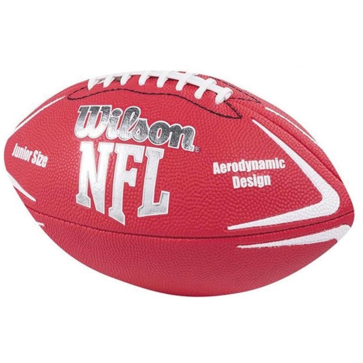 Bola Futebol Americano Nfl Avenger Junior Vermelha Wilson - R  76 4bc70ec41b7c6
