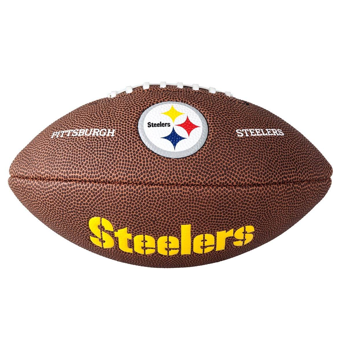 bola futebol americano wilson pittsburgh steelers - original. Carregando  zoom... bola futebol americano. Carregando zoom. 6af81e1b464d4