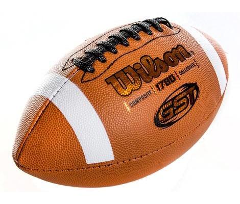 257603eaa Bola Futebol Americano Gst Composite Oficial Nfl - Wilson - R  132 ...