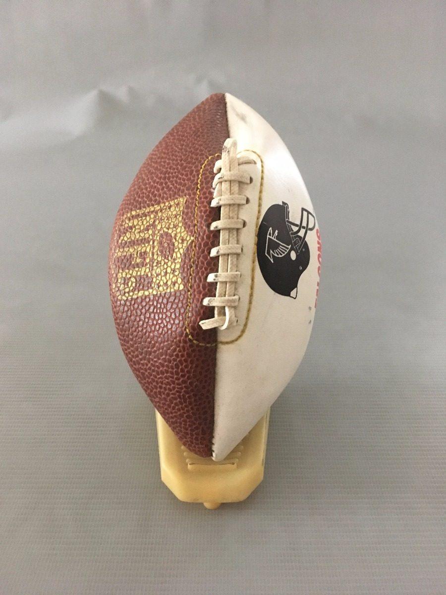 368e1ef6c7452 bola futebol americano - n f l - falcons - enfeite. Carregando zoom.