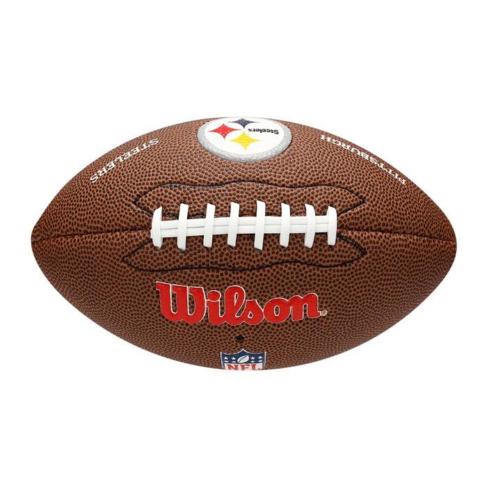 Bola Futebol Americano Nfl Pittsburgh Steelers Wilson - Wtf1 - R ... 7f16f4553324d
