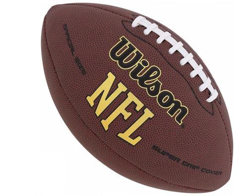 bola futebol americano wilson nfl  - original + nf + frete
