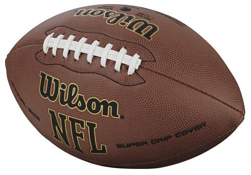 bola futebol americano wilson nfl super grip - frete grátis