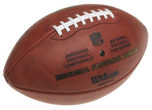 bola futebol americano wilson nfl the duke pro oficial