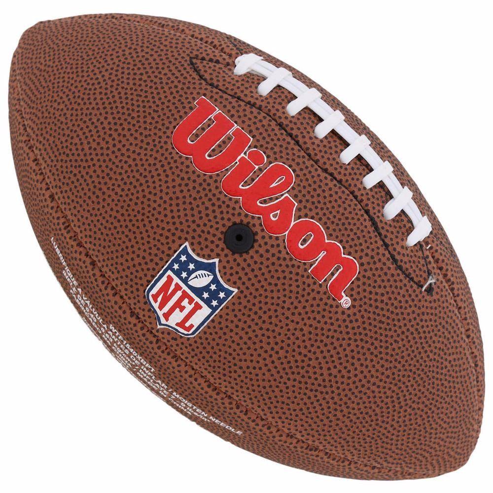 bola futebol americano wilson pittsburgh steelers - original. Carregando  zoom. ff0c691fbd16a