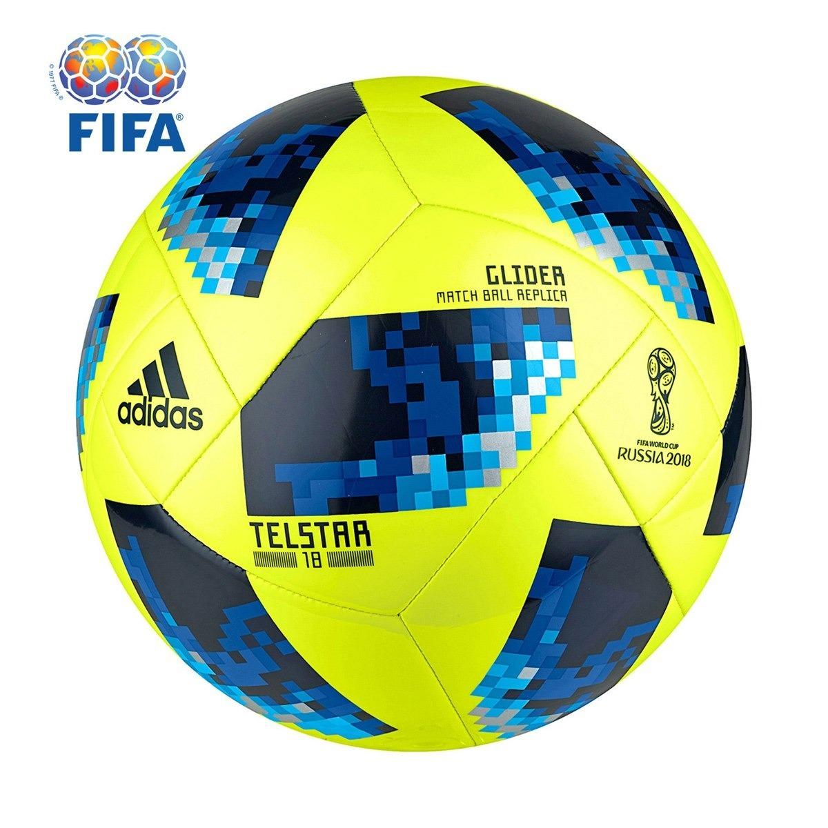 bola futebol campo adidas telstar 18 glider. Carregando zoom. a2947ca242431