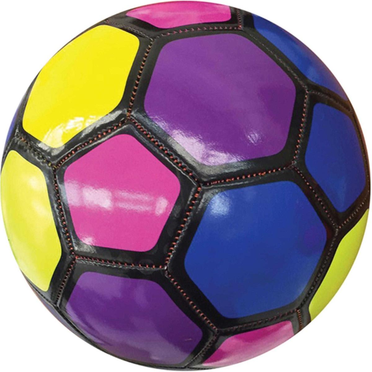 03870e56d3 bola futebol campo colorida n 5 diametro 22cm art brink. Carregando zoom.