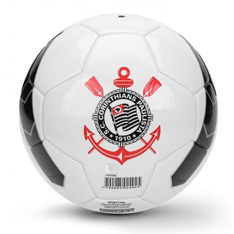 6adb8f935a Bola Futebol Campo Corinthians Timão Licenciada Oficial N5 - R  35 ...