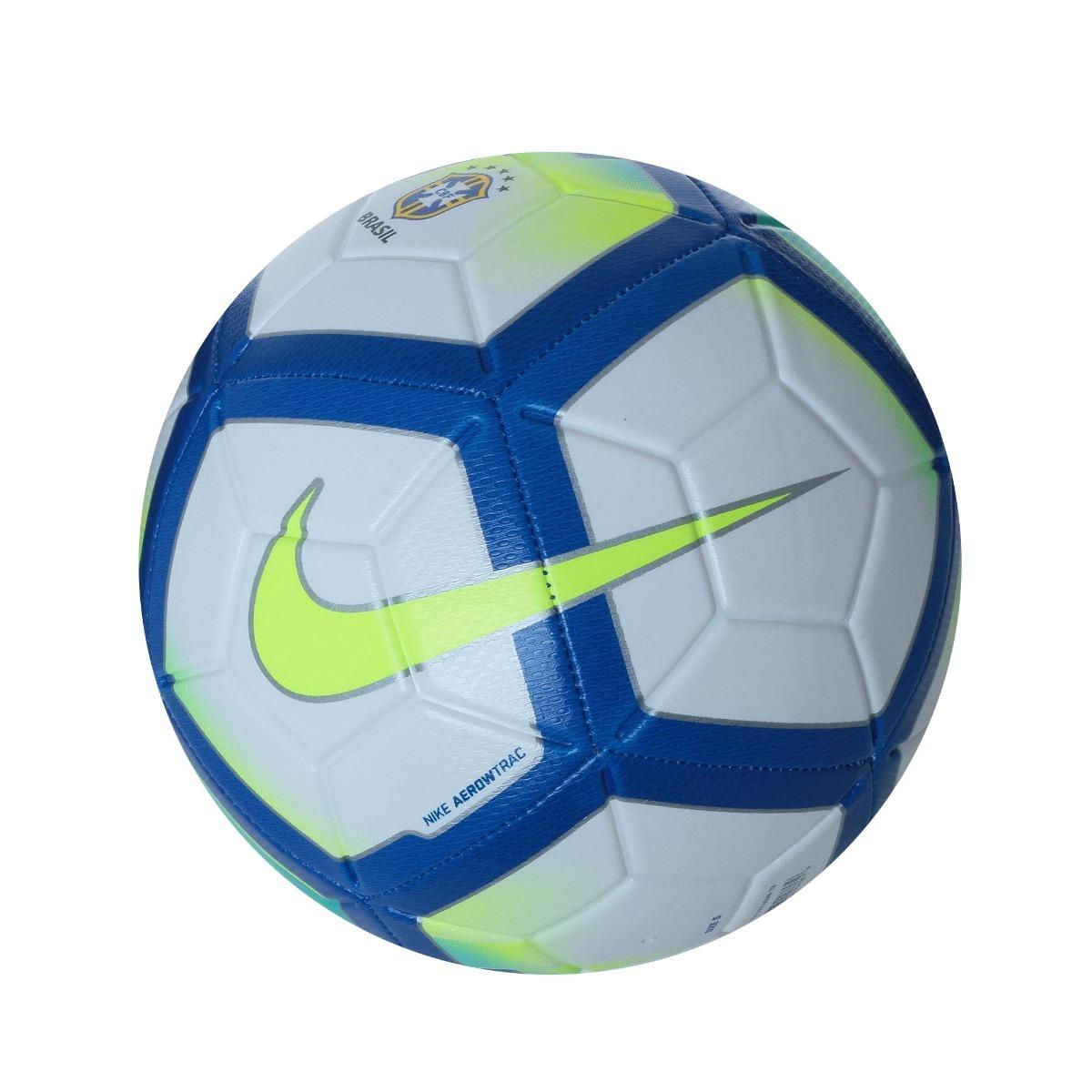 bola futebol campo nike strike cbf brasileirão original 2018. Carregando  zoom. 4772b806f501f