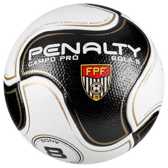 2c5ff06b0501c Bola Futebol Campo Penalty 8 S11 Pro 6 Fpf - R  225