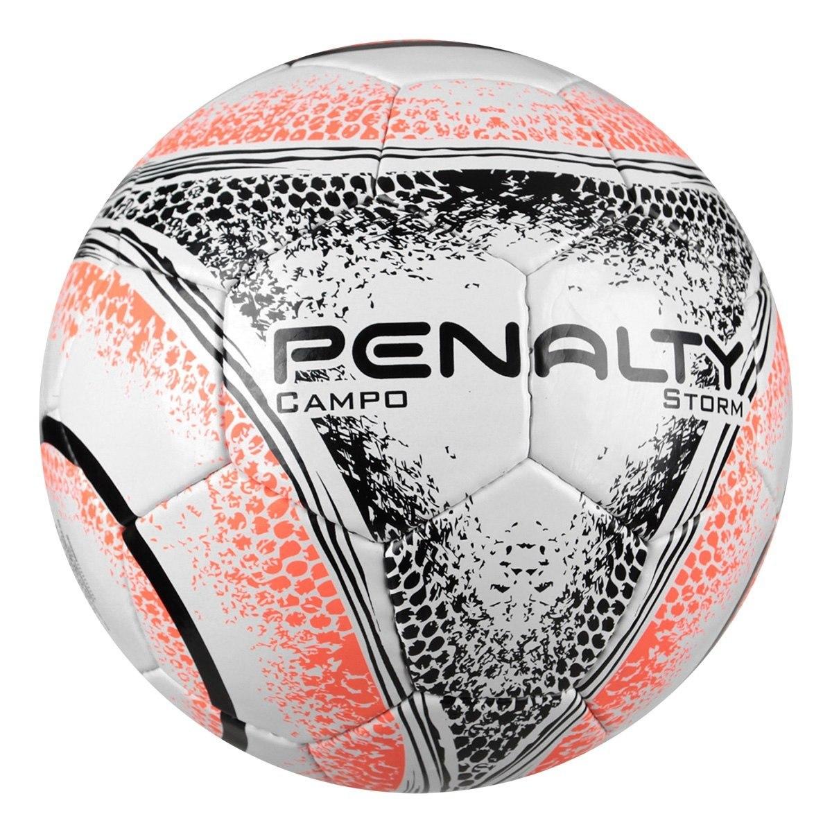 14e3d9a386507 Bola Futebol Campo Penalty Storm C c Viii - Branco E Preto - R  69 ...