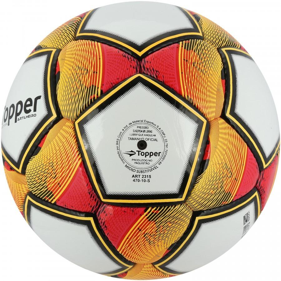 5285ad8e128ba bola futebol campo topper artilheiro + bomba ar. Carregando zoom.