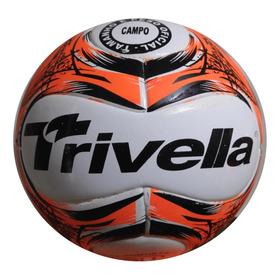 Bola Futebol Campo Trivella Original Promoção - Brasil Gold