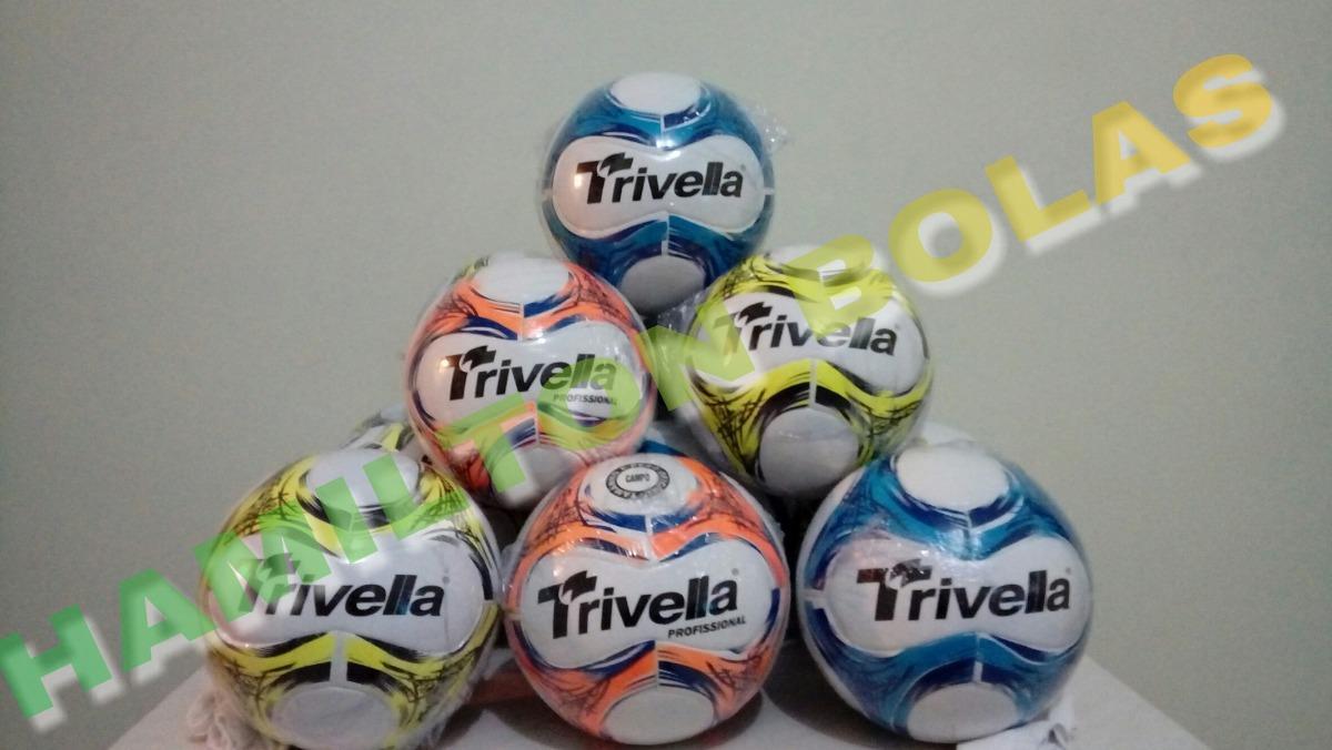 d18cd87eb5e6d bola futebol campo trivella original promoção - brasil gold. Carregando zoom .