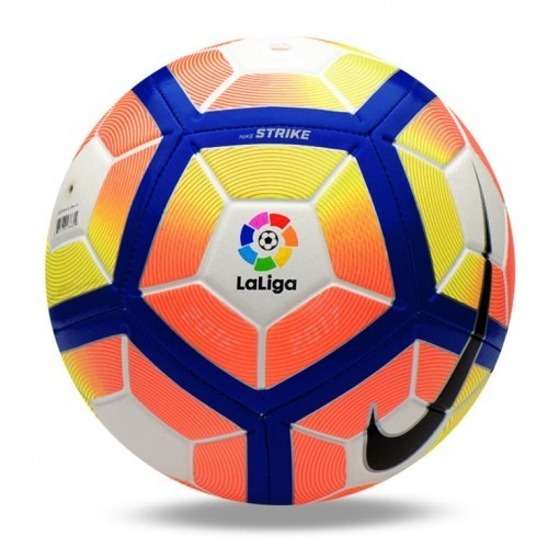 Bola Futebol De Campo Nike Strike La Liga + Nf - R  449 57e0f2887f79b