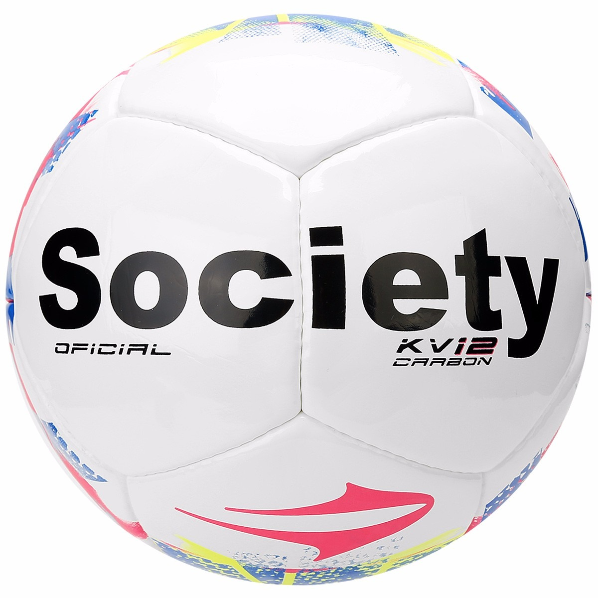 980102f200 Bola Futebol De Society Topper Kv 12 Carbom Grama Sintética - R  94 ...