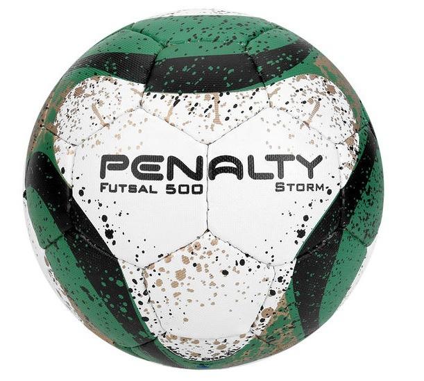 Bola Futebol De Salão Futsal Penalty Storm Com Costura - R  69 01034cda5ea9e