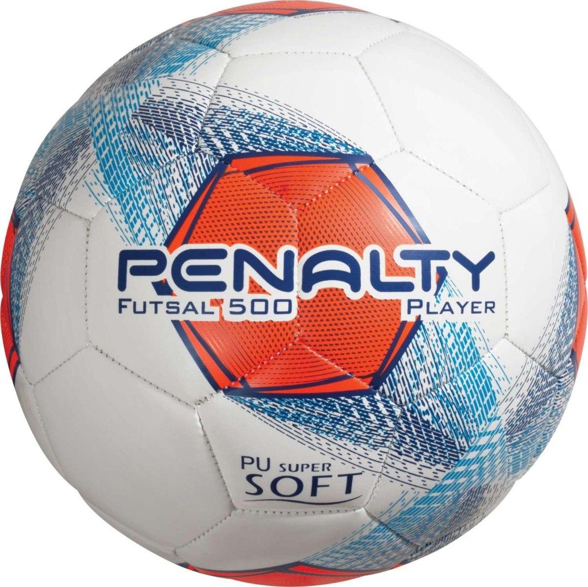 35d59bb257 Bola De Futebol De Salão Futsal 500 Player Penalty (2018) - R  70