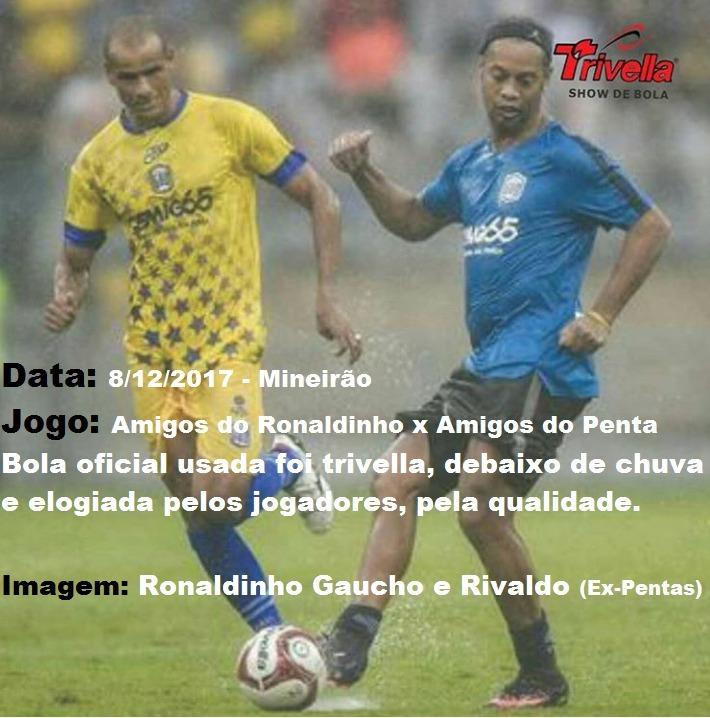 Bola Futebol Futsal Trivella Original Promoção - Brasil Gold - R  60 ... 8e13365a4a2fa