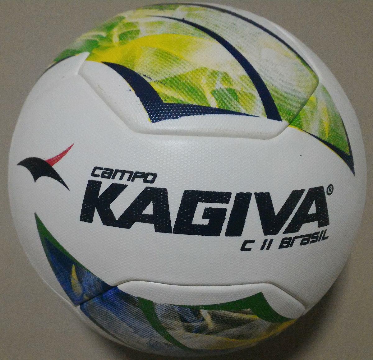 a0145332f8 Bola Futebol Campo Kagiva C11 Brasil - Revest. Em Pu - R  122