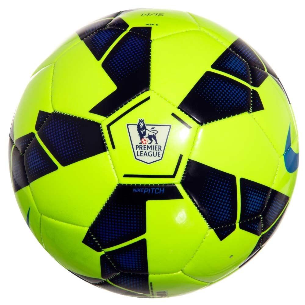 Bola De Futebol De Campo Nike Pitch Epl Verde Original - R  42 9331c133fe2d9