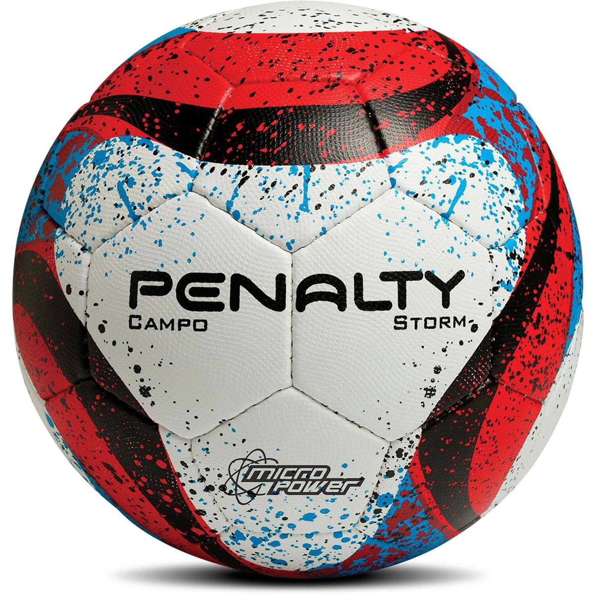 Bola Futebol Campo Storm Com C Bc-vm-az Penalty - R  86 823d9205a9be9