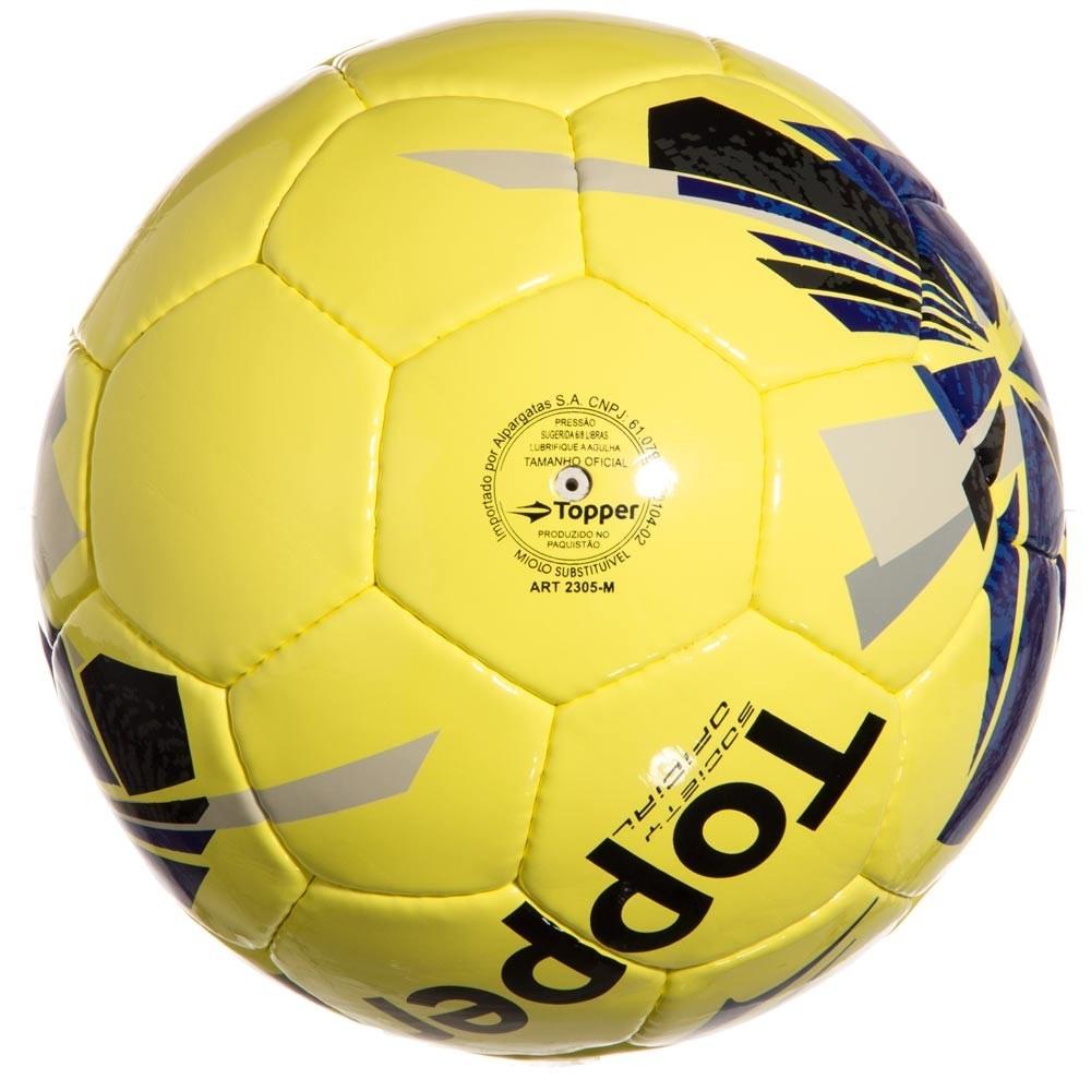 bola de futebol society topper strike vii. Carregando zoom... bola futebol  society. Carregando zoom. c5c11af7effe2