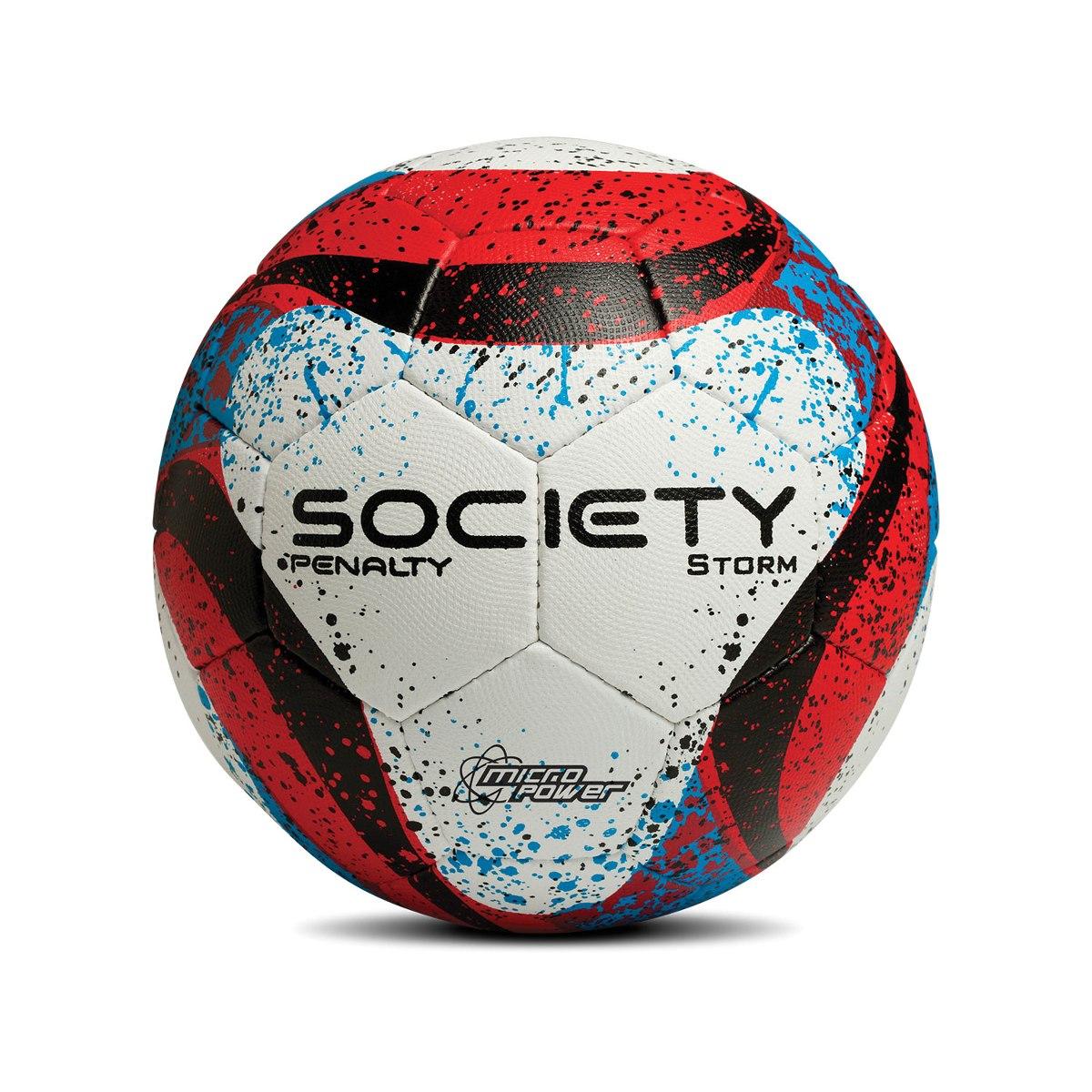 ee4be42b25 Bola De Futebol Society Storm C c - R  115