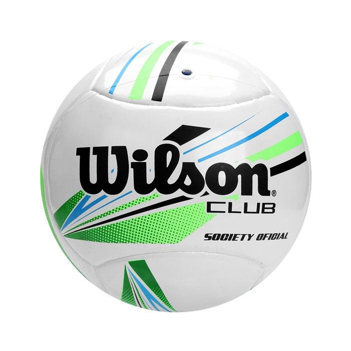 Bola Futebol Society Club Wilson - Bf0006vdaz - R  83 a847e595c0926