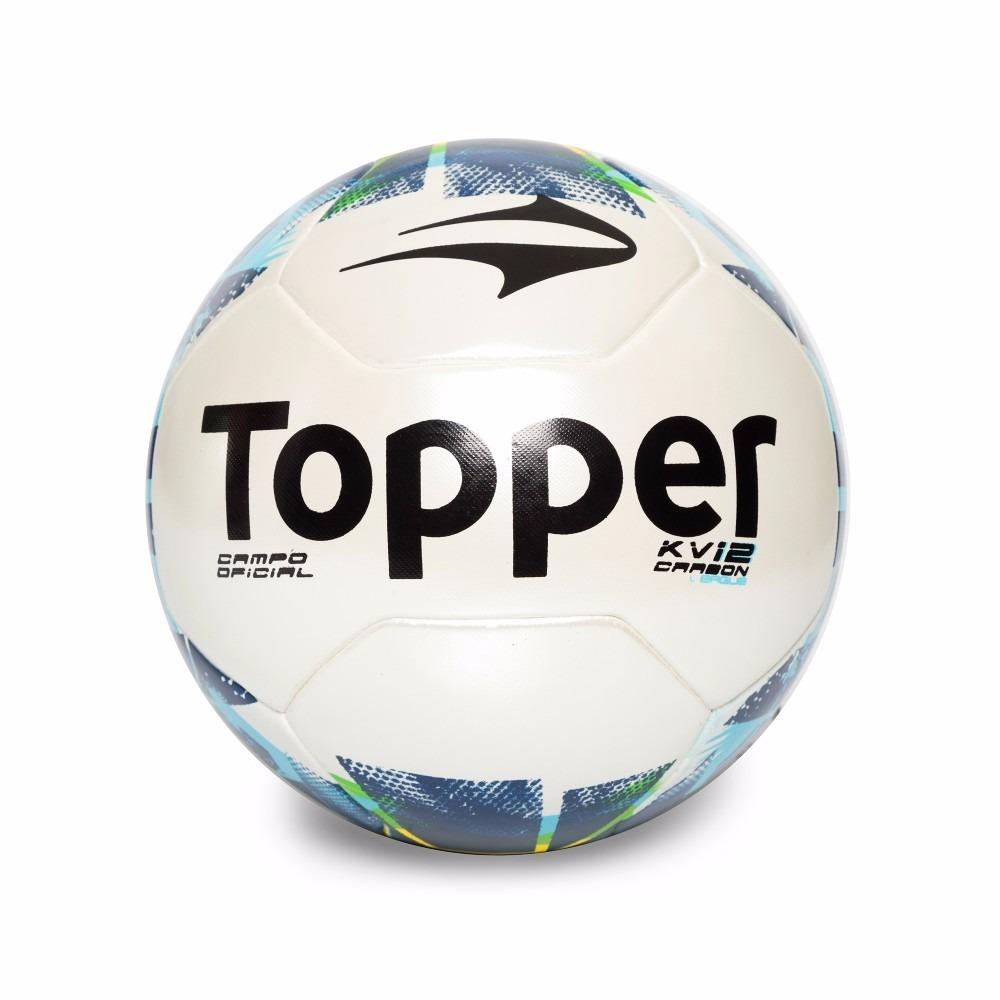 b2305f08f4 Bola Futebol Campo Topper Kv Carbon Ii Brasileirão Série B - R  79 ...