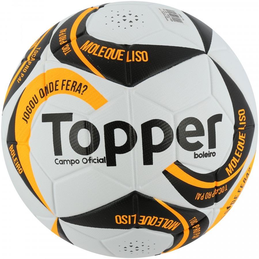 Bola Futebol Campo Topper Boleiro - R  65 6e79264a4b153
