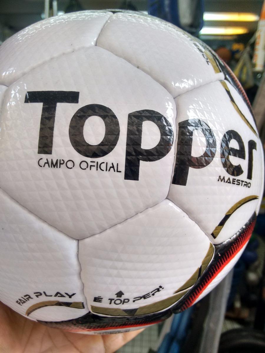 Bola De Futebol De Campo Oficial Maestro Topper - Serie B - R  120 ... 48a4eef4bb7a1