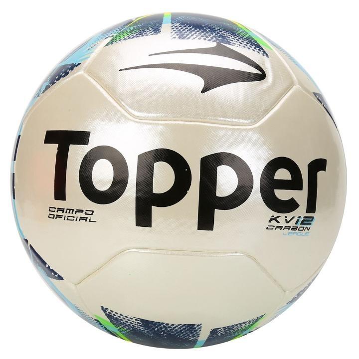 Bola Futebol Campo Topper Kv Carbon League 2 Profissional - R  169 ... 4695a0e980124