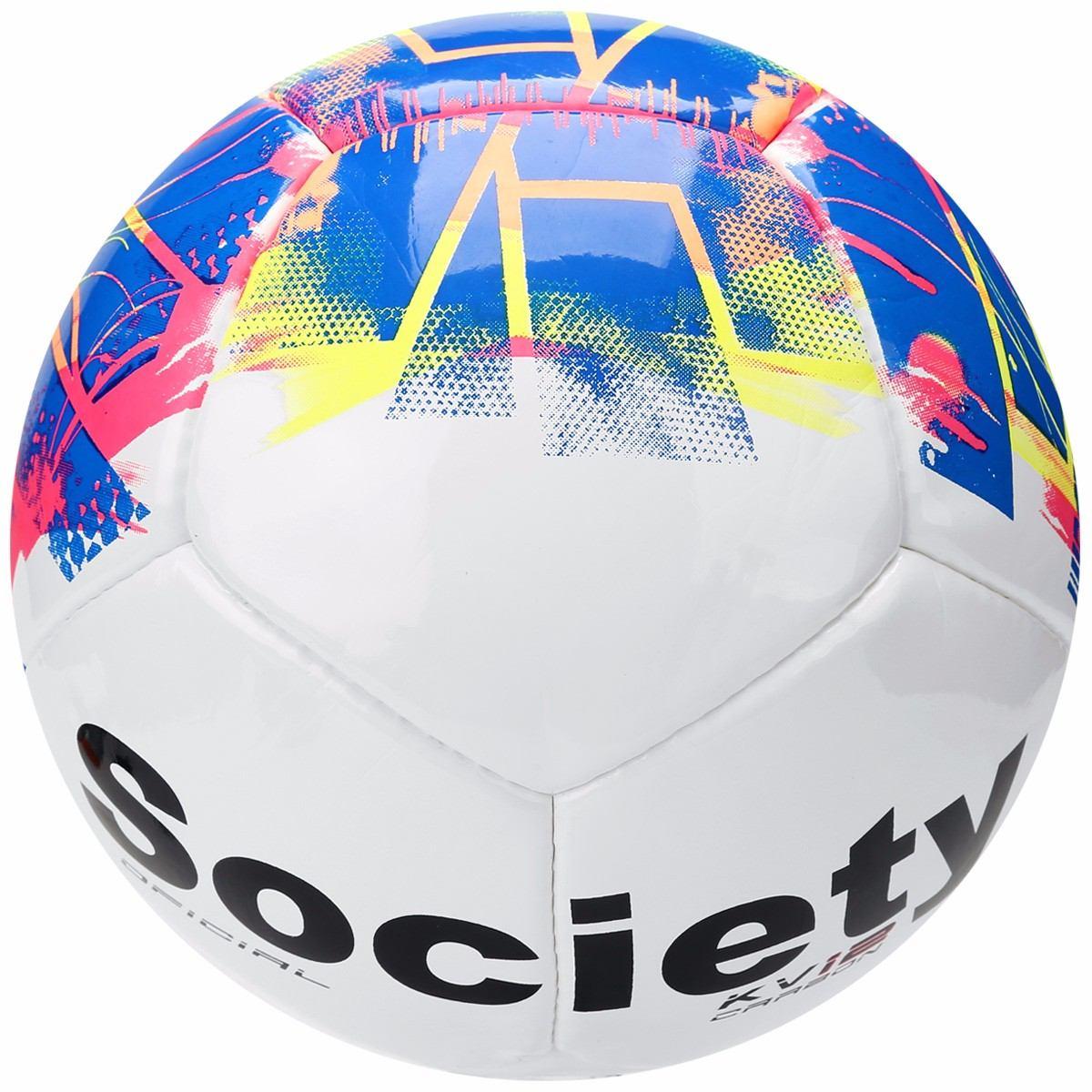 312856ce16 Bola Futebol De Society Topper Kv 12 Carbom Grama Sintética - R  94 ...