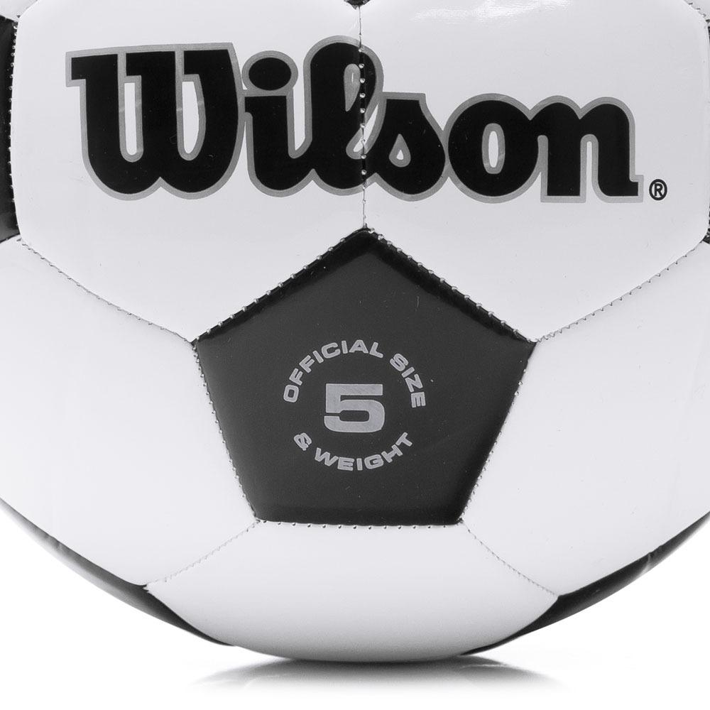 Bola De Futebol De Campo Wilson Traditional Branca E Preta - R  64 ... ab856d332060e