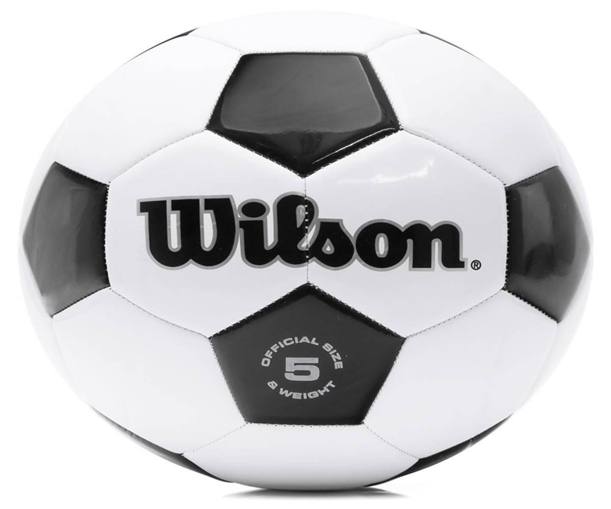 bola de futebol tradicional wilson n 5. Carregando zoom. 124002c4e6560