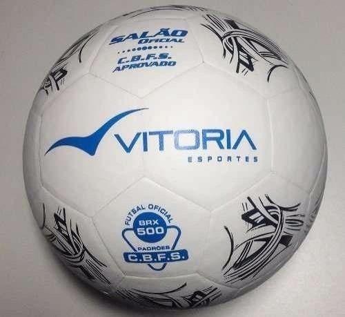 7b9677796d90b Bola Futsal Barata Vitória Oficial Brx 500 - 3 Unidades - R  169