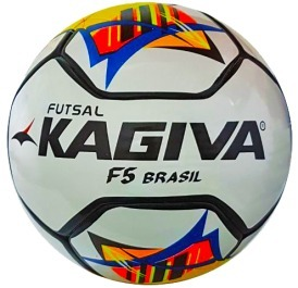 Bola Futsal Kagiva F5 Brasil Pró - 2018 Federações - R  125 67d59175383e4