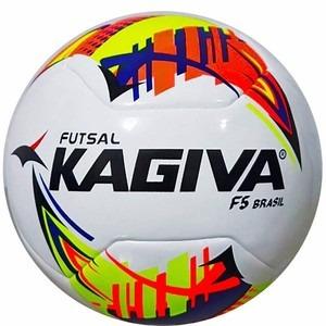 Bola De Futsal Kagiva F5 Brasil Pro Frete Gratis 2017 - R  130 ab5c3fbabff1a