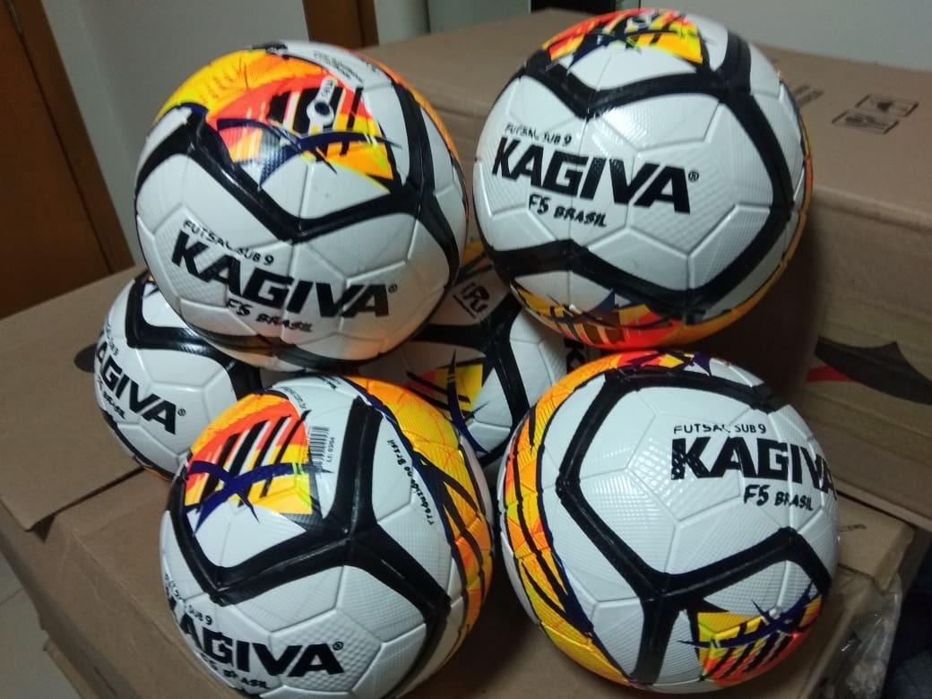 Bola Futsal Kagiva F-5 Brasil Infantil 1ffd2c15a3d85